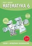 Matematyka z plusem klasa 6 Zeszyt ćwiczeń Część 2 Liczby i wyrażenia algebraiczne